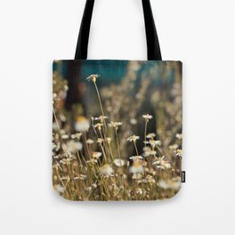 Field of Daisies - Floral Photography #Society6 Tote Bag