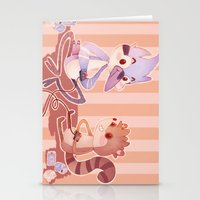 regular show Stationery Cards featuring Regular Show by SweetOwls