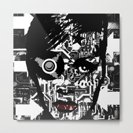 Black and White.. Metal Print