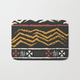 African Tribal Pattern No. 84 Bath Mat