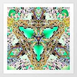 Emerald Key Art Print