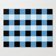 Blue Squares Canvas Print