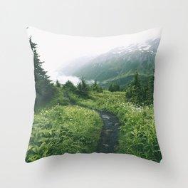 Happy Trails XIX Throw Pillow