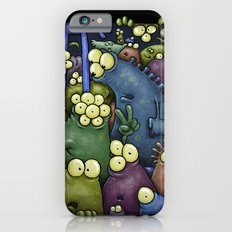 Crowded Aliens Slim Case iPhone 6s