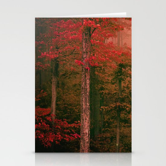 Autumn Fog Stationery Cards