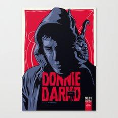 Donnie Darko - Fictive Comic Cover Canvas Print