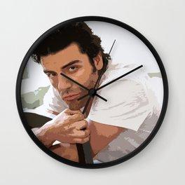 Oscar Isaac 3 Wall Clock
