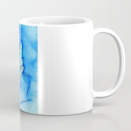 Telopea in blue Coffee Mug