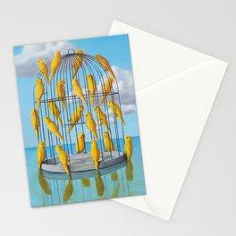 Free Birds Stationery Cards