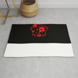 Panda Paw Paw T-Shirt Logo (Red) Rug