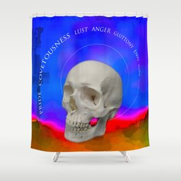 The seven Shower Curtain