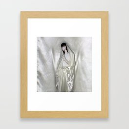 "say no to patriarchy / ""the madonna"" Framed Art Print"