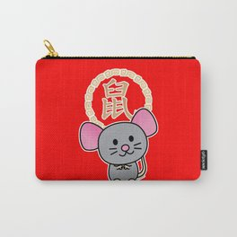 Chinese lunar New Year mouse rat lucky money red Carry-All Pouch