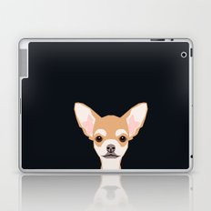 Misha - Chihuahua art print phone case gift for dog owner and dog people Laptop & iPad Skin