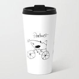 UX/UI Bike Sketch - User Experience Rocks Travel Mug
