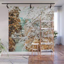Japan #painting #places Wall Mural