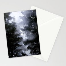 Morning Fog in the Woods Stationery Cards
