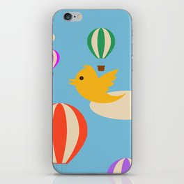 free baloons iPhone Skin