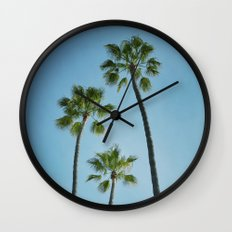 Three Palms Wall Clock
