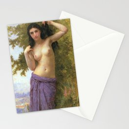 Beaut Romane by William-Adolphe Bouguereau NUDE ART Stationery Cards