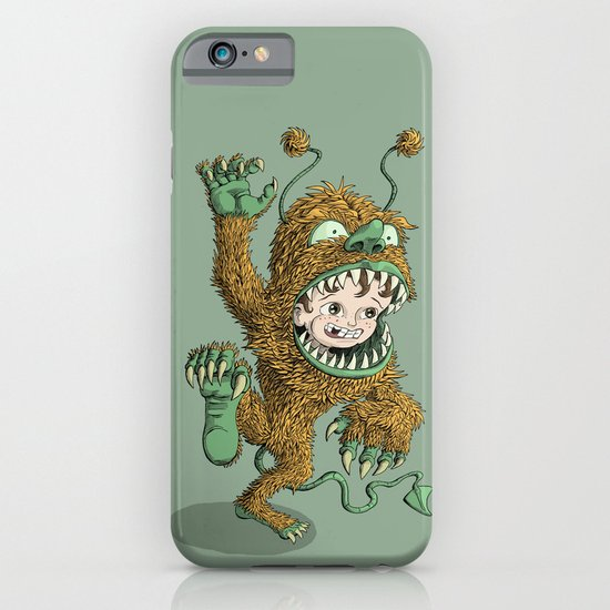 Monster Inside iPhone & iPod Case