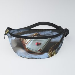 Merry Christmas Aces High Fanny Pack