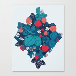 Very Strawberry Canvas Print