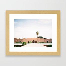 "Marrakech photography print ""El badi Palace Palais"" | Shot on film | Wanderlust photo art Morocco Framed Art Print"