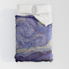 Vincent Van Gogh Starry Night Comforters