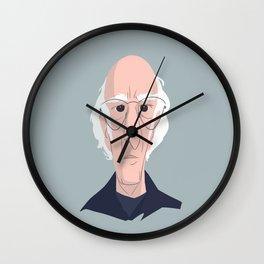 Larry David Wall Clock
