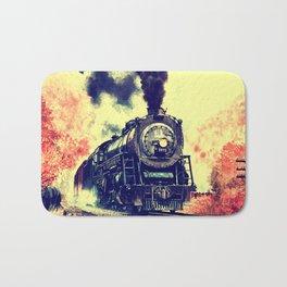 Express Train Bath Mat