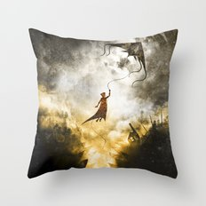 A Place to Stay Throw Pillow
