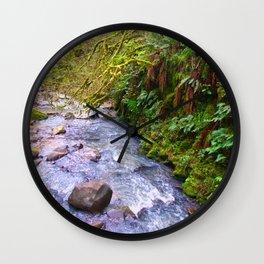 Macleary Creek Wall Clock