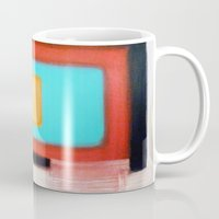 rothko Mugs featuring Living Rothko by Heaven7