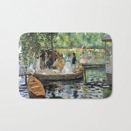 Pierre Auguste Renoir La Grenouillere Bath Mat