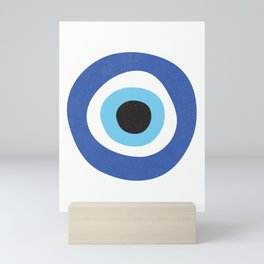 Evil Eye Symbol Mini Art Print