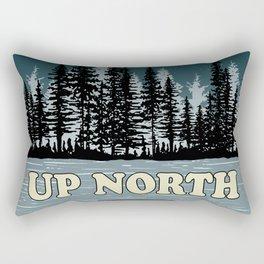 Up North at Night Rectangular Pillow
