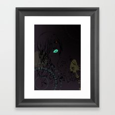pretty Framed Art Print