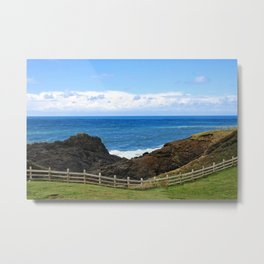 A Day At The Coast Metal Print