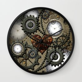 Steampunk II Wall Clock