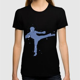 Karate Kick Silhouette T-shirt
