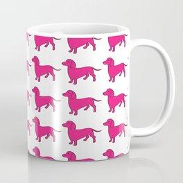 Doxie Love - Pink Coffee Mug