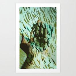 ACE OF PISCIS Art Print