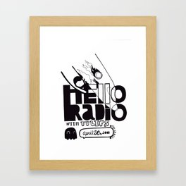 Hello Radio Framed Art Print