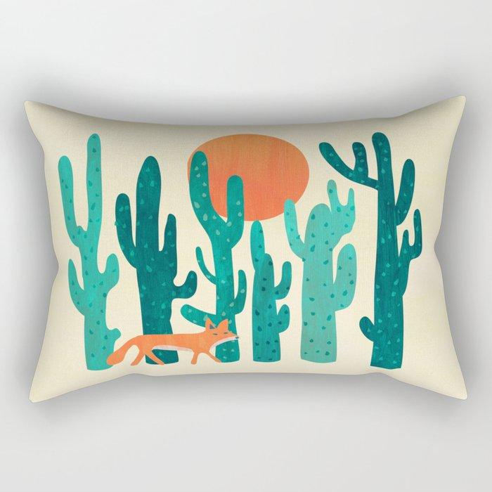 Desert fox Rectangular Pillow