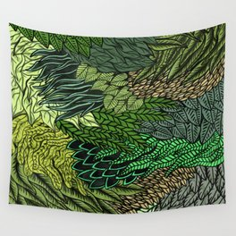 Leaf Cluster Wall Tapestry