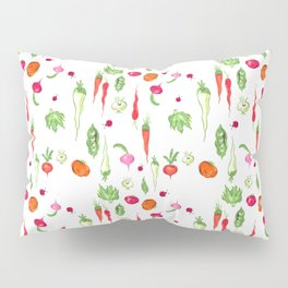 Veggie Party Pattern Pillow Sham
