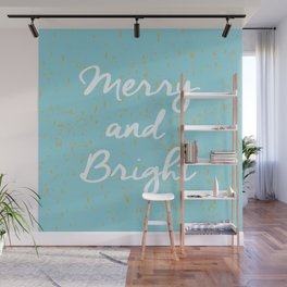 Merry and Bright Wall Mural