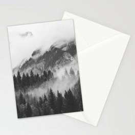 Vancouver Fog B&W Stationery Cards