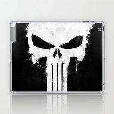 Punisher White Laptop & iPad Skin